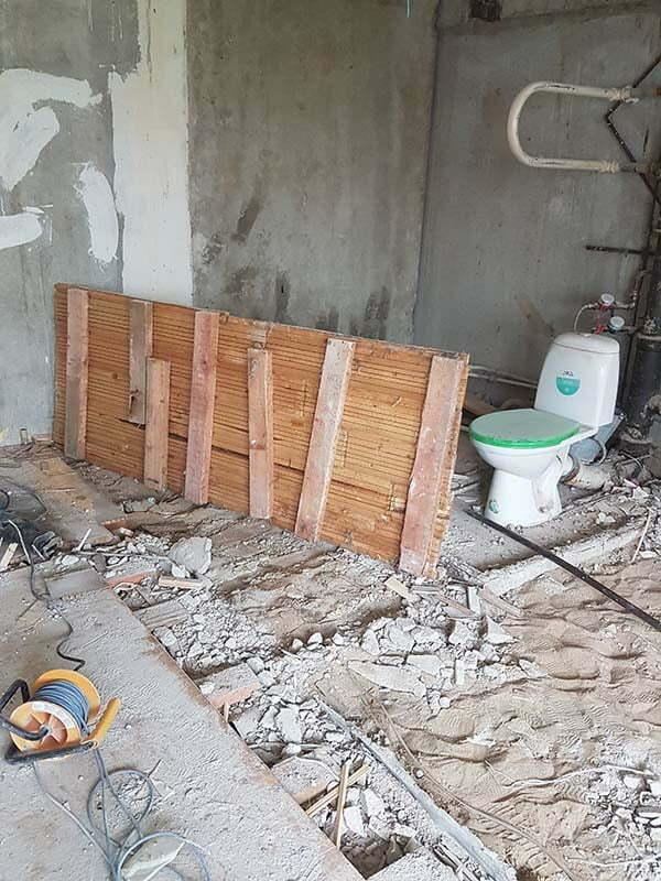 CHastichnyj demontazh v kvartire narofominskaya13