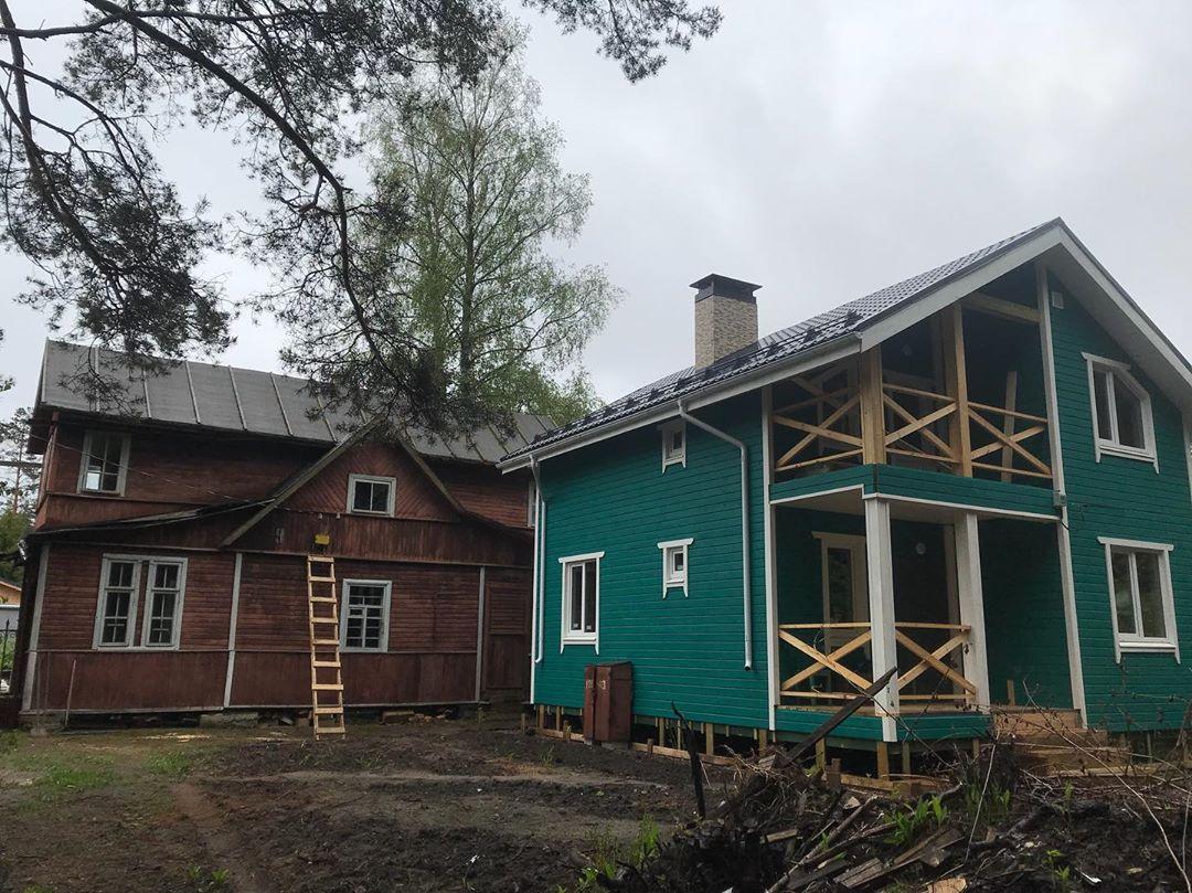 Demontazh chastnogo doma Zelenograd1