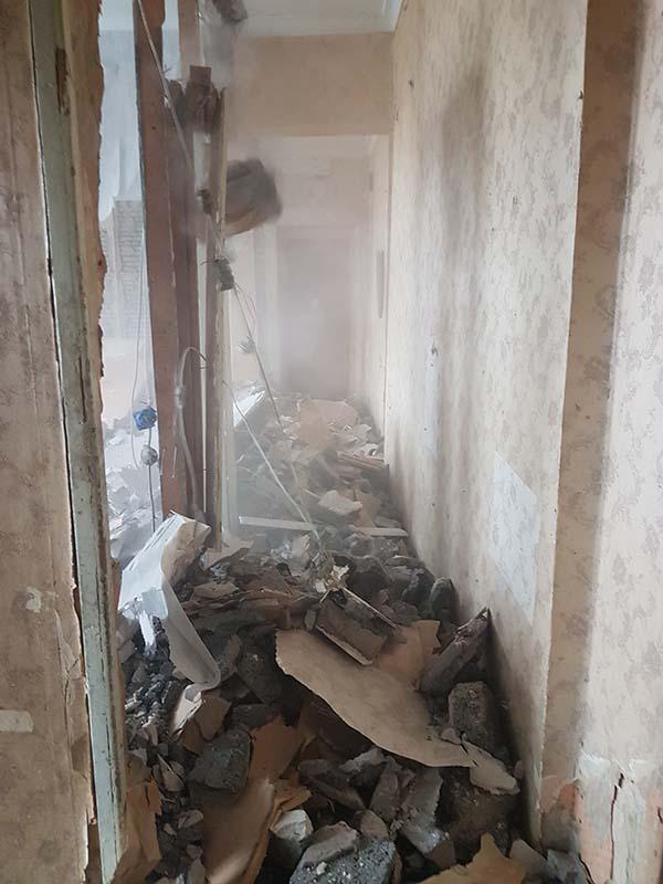 demontazh v kvartire pervomajskaya12