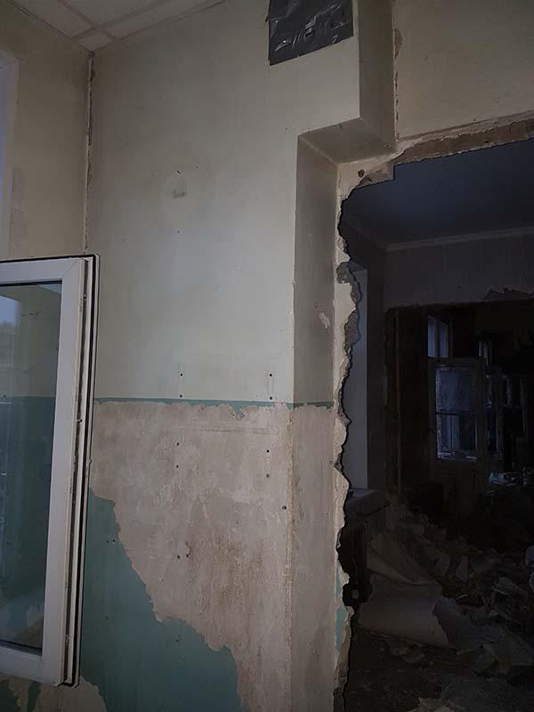 demontazh v kvartire pervomajskaya18