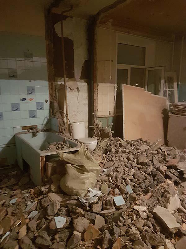 demontazh v kvartire pervomajskaya22