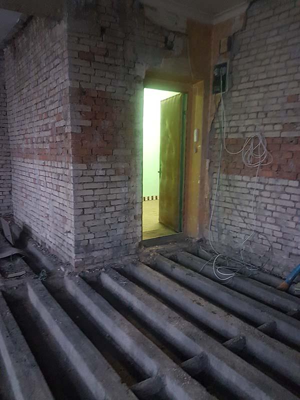 demontazh v kvartire pervomajskaya26