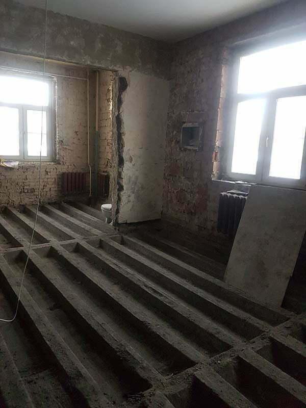 demontazh v kvartire pervomajskaya28