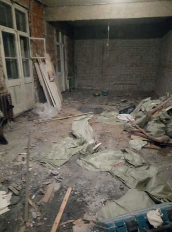 demontazh v kvartire pervomajskaya38